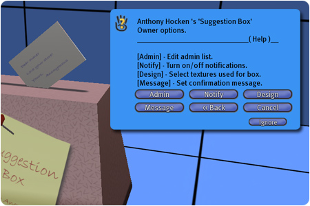 Suggestion Box Photo